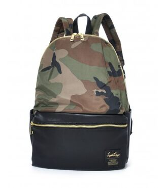LEGATO LARGO Grosgrain-Like - 10 Pockets Backpack CAMO