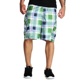 Ecko Unltd Plaid Boardshort Poison Green