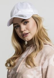 Flexfit Low Profile Satin Cap white