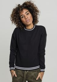 Urban classics Ladies College Sweat Crew blk/blk