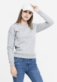 Urban classics Ladies Sweat Crew grey