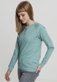 Urban classics Ladies Terry Raglan Crew bluemint