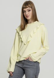 Urban classics Ladies Terry Volant Crew powderyellow