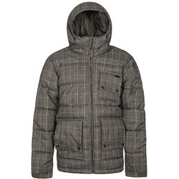 Rip Curl Winterjacket Check Brown
