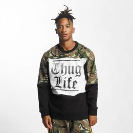 Thug Life / Pullover New Life in camouflage