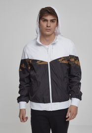 Urban Classics Advanced Arrow Windrunner blk/wht/woodcamo