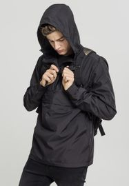 Urban Classics Basic Pull Over Jacket black