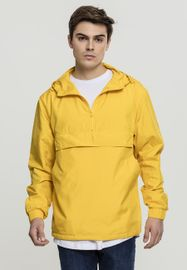 Urban Classics Basic Pull Over Jacket chrome yellow