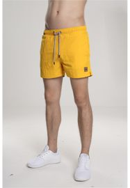 Urban Classics Block Swim Shorts chrome yellow