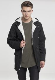 Urban Classics Canvas Cotton Parka black