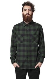 Urban Classics Checked Flanell Shirt blk/forest