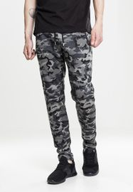 Urban Classics Interlock Camo Pants dark camo