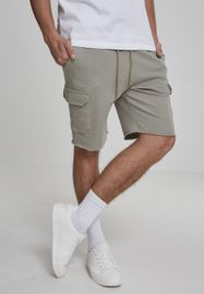 Urban Classics Open Edge Terry Cargo Shorts pastelolive