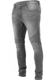 Urban Classics Slim Fit Biker Jeans grey