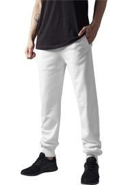 Urban Classics Straight Fit Sweatpants white