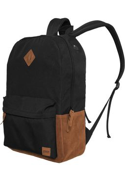 Urban classics Backpack Leather Imitation blk/brn