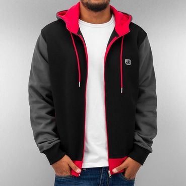 Just Rhyse Oxid Zip Hoody Black