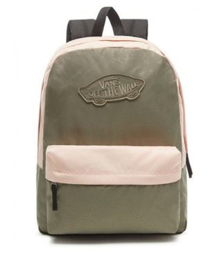 VANS WM REALM BACKPACK Dusty Olive